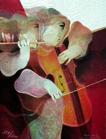 Cello and Flute