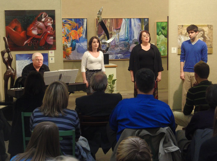 Peppermint Creek Theatre preview at                               Saper Galleries