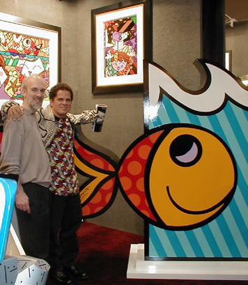 Roy Saper and                     Britto