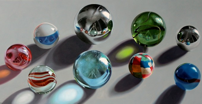 Marbles and shadows