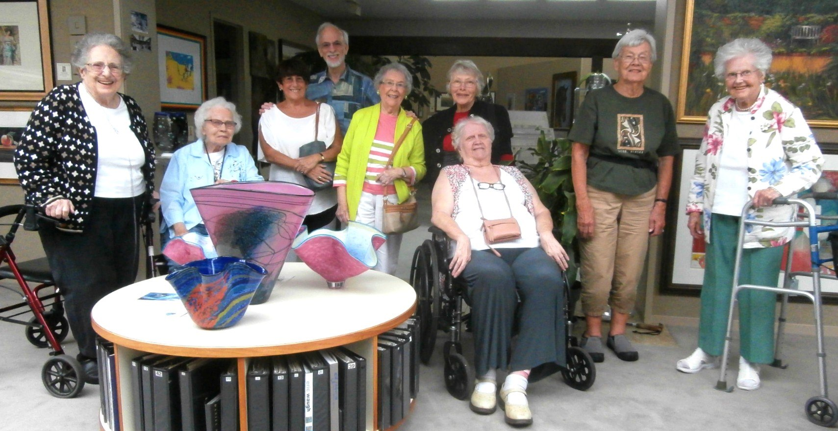 Burchaem Hills                       Retirement Center guests