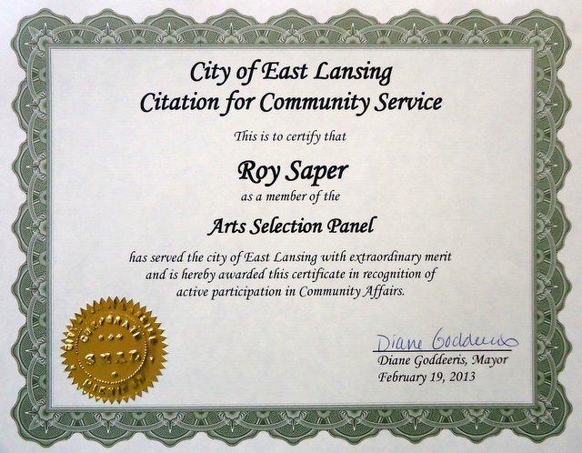 Community service award certificate template community service community service award certificate template yadclub Choice Image