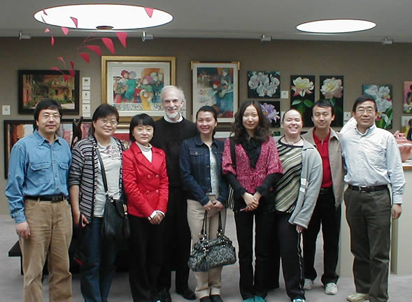 Visitors from China