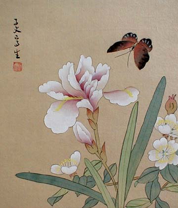 Chinese Paintings on silk