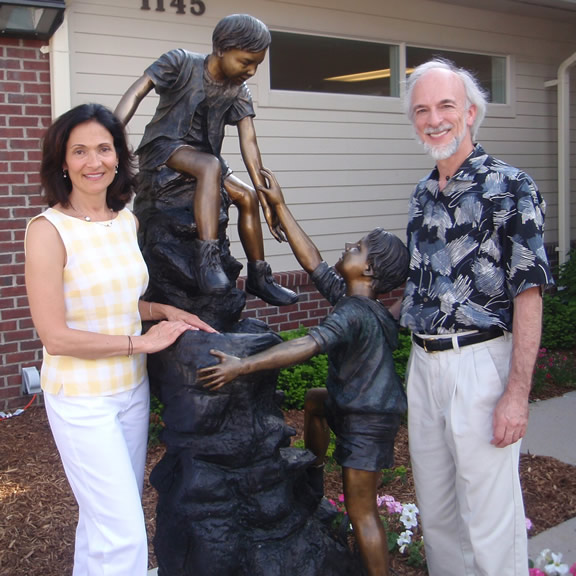Ele's Place Sculpture                                     dedication