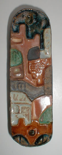 Village                 mezuzah