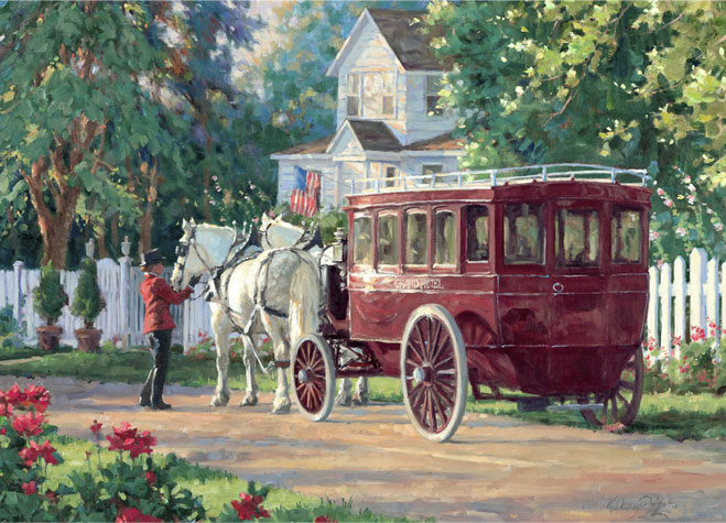 Your                     Carriage Waits