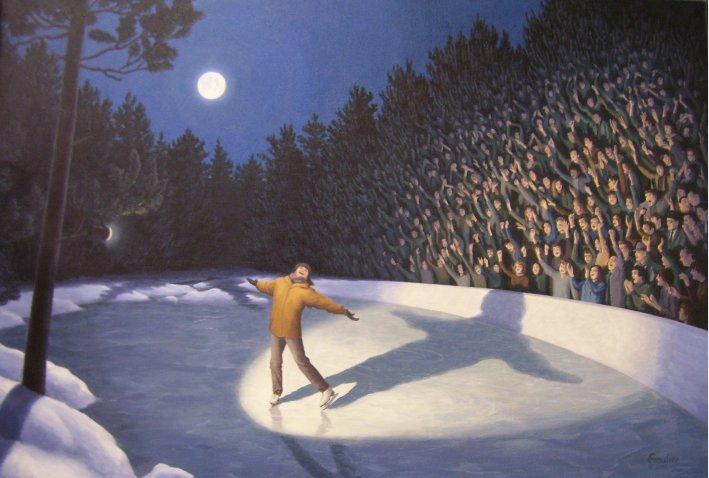 Pinturas de Realismo Magico - Rob Gonsalves