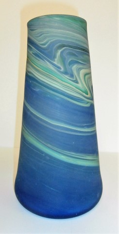 Tapered tall vase