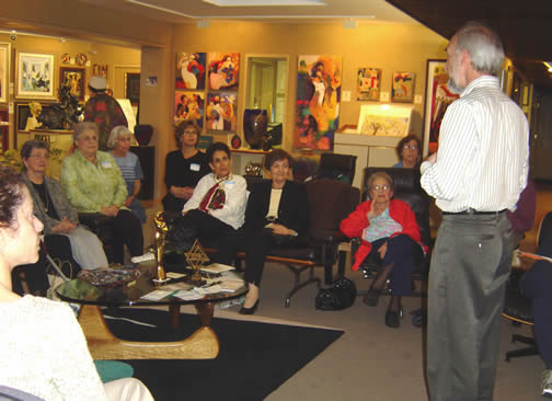 Hadassah at                         Saper Galleries 9/13/06
