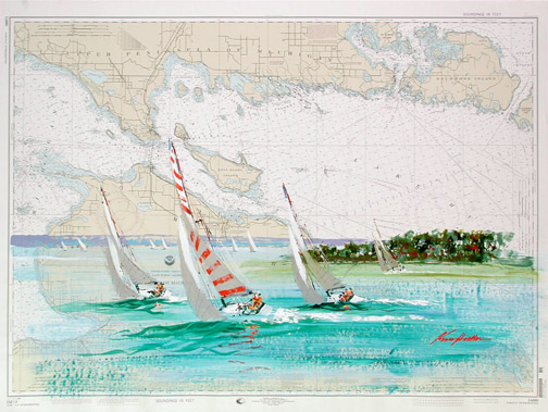 Hallam's Straits of Mackinac