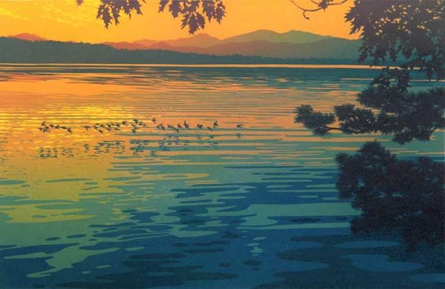 William Hays linocuts