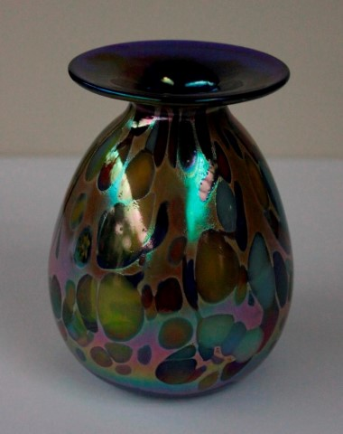 Colorful drops mini vase