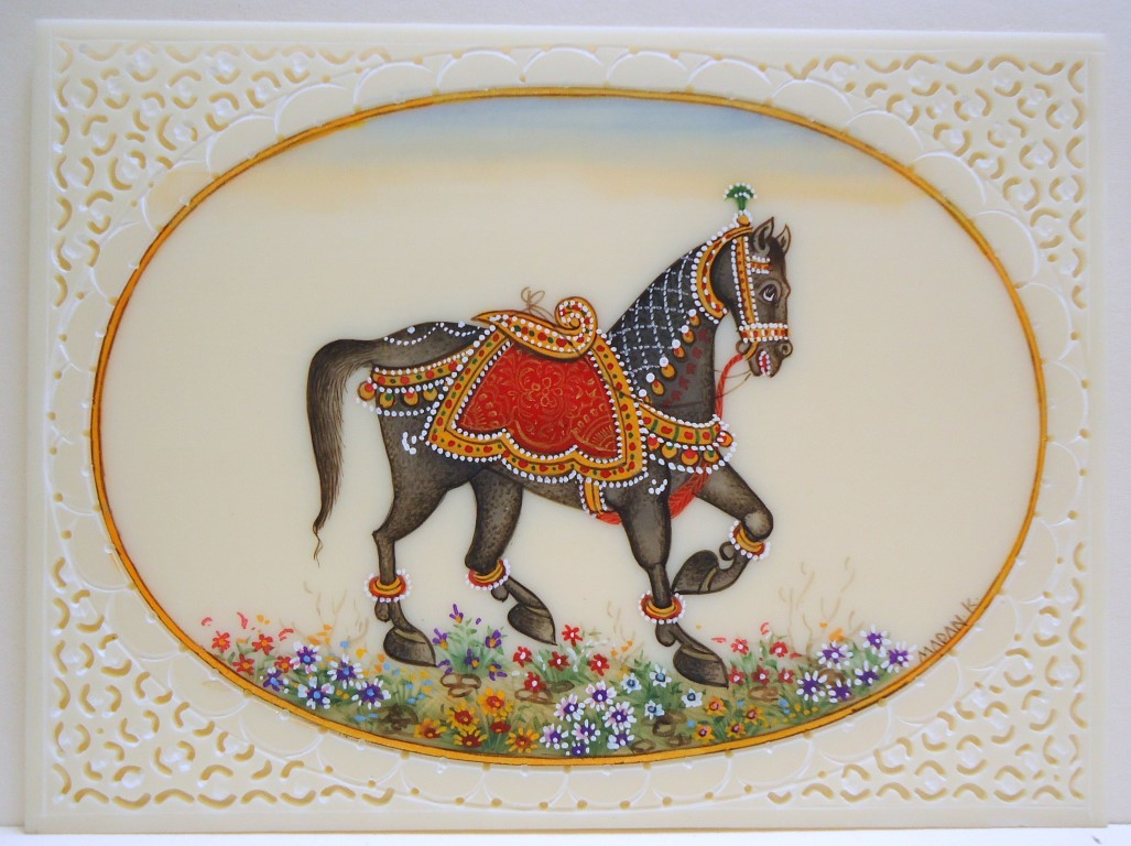 Saper Galleries Is The Source For Indian Miniature Paintings By Madam Kumar