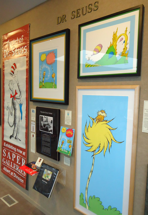 Lorax at Saper                         Galleries