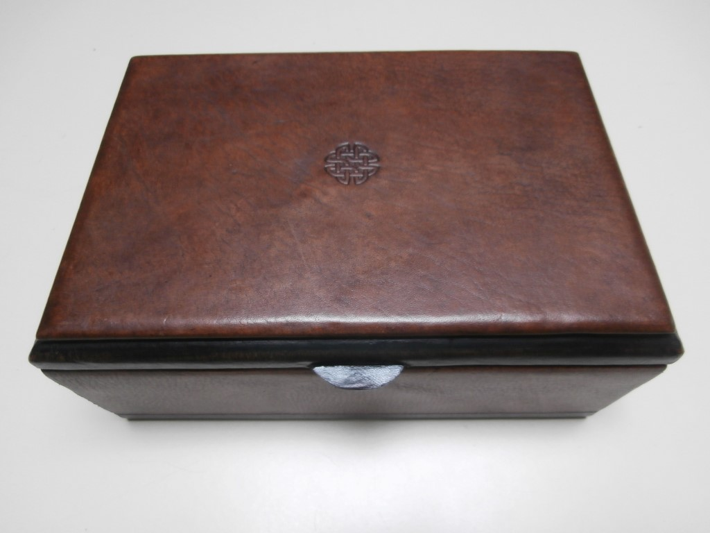 Peruvian leather boxes