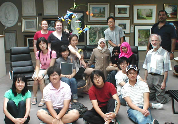Visiting                         students from abroad