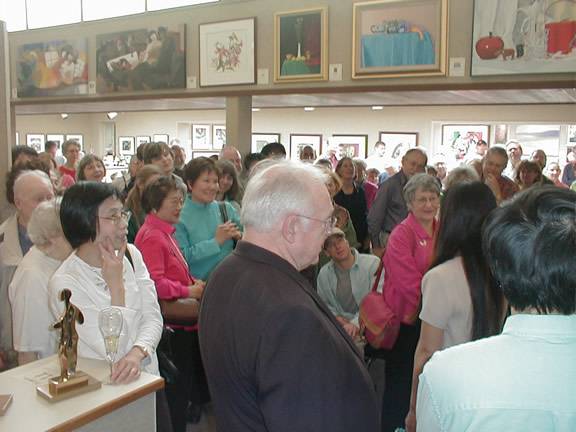 Exhibition Opening May 7, 2006