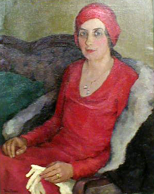 Portrait Of Ethel Crouch Brown