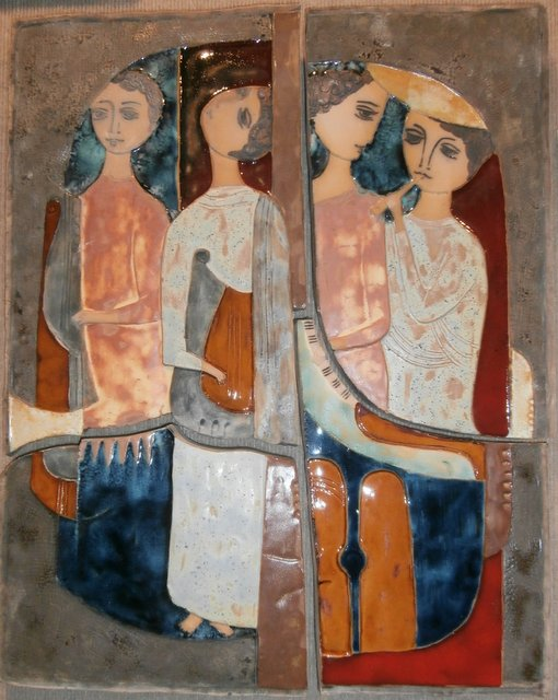 Four Musicians in Four Panels