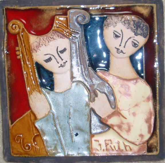 Couple with Instruments