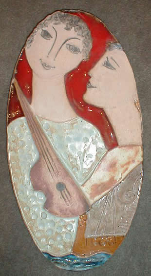 Two                 Figures and Instrument