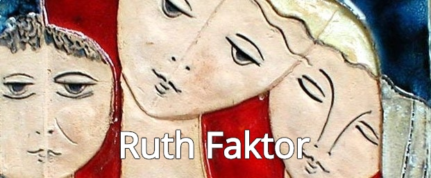 Ruth Faktor         ceramics at Saper Galleries