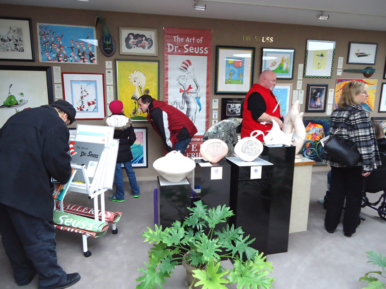 Lorax                                 Comes to Saper Galleries exhibit opened                                 March 3, 2012