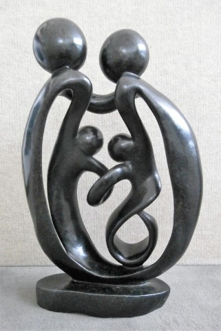 Shona sculptures                         from Zimbabwe